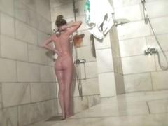 Hot Russian Shower Room Voyeur Video  30