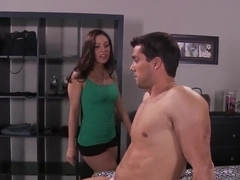 Sixty-nining Gracie Glam with appetite