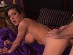 Kayla Paige gets her moist pussy filled with hard cock