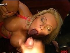 Crazy pornstar in Best Bukkake, Facial sex movie