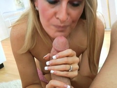 Horny pornstars Sara Jaymes, Sara James, Brandy Smith in Amazing POV, Blowjob adult clip