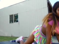 Exotic pornstar Anikka Albrite in fabulous big cocks, cunnilingus sex video