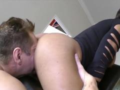 Best pornstars Nacho Vidal, Imani Rose in Amazing Big Ass, Interracial adult movie