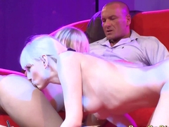 fuck orgy on public show stage