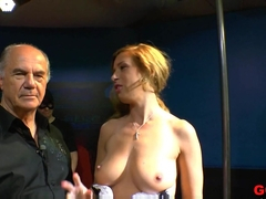 Crazy pornstar in Hottest German, Bukkake adult clip
