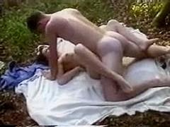 Hot picnic fuck session