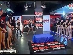 Katy and Bonita bukkake gangbang cum sluts
