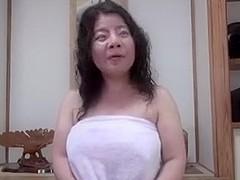 Japanese unattractive BBW Mature Creampie Junko fuse 46years