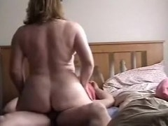 Curvy aged Turkish wife shakes her big gazoo during the time that riding me like a cowgirl