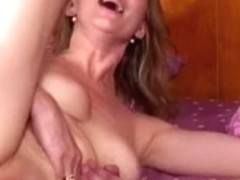 Anal joy with a hot golden-haired mother I'd like to fuck