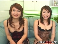 Cock sucking and pussy pounding orgy Honoka Aoi & Maya Tsukino