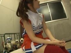 Hot cheerleader Kokomi Naruse teen fuck!
