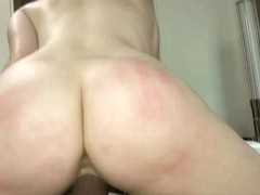 Banging a naughty squirter