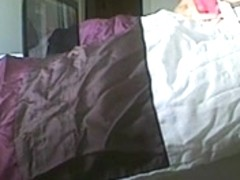 Tonya and big pink dildo