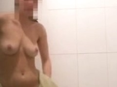 Sexy Girl Naked In Bathroom