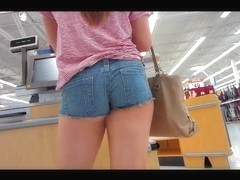 Nice ass in shorts.