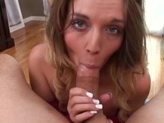 Horny pornstar Casey Stone in Best POV, Blowjob porn clip