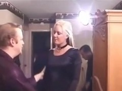 pierced blond banged