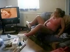 Older Jerking Off Watching Old & Juvenile Movie