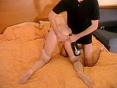 Hot couple makes fetish sex tape
