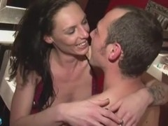 brit couple at the club