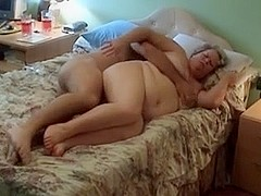 dude bangs his chubby slag