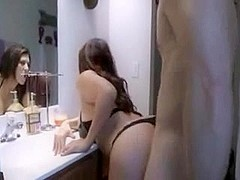 stepmother housewife fucked during cleaning
