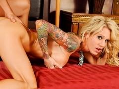 Sarah Jessie in Big Titty MILFS #15, Scene #01