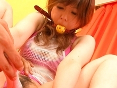 Crazy Japanese whore Miku Airi in Amazing JAV uncensored Dildos/Toys movie