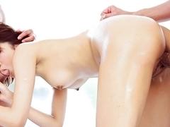 Incredible Japanese slut Miriya Hazuki in Exotic JAV uncensored Handjobs movie
