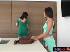 Jenna Sativa lick bffs mom Dana Dearmond