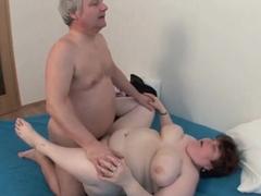 BBW grandma still enjoys grandpa's tiny dick