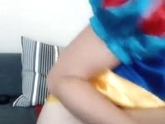 Princess Sageness cums three times