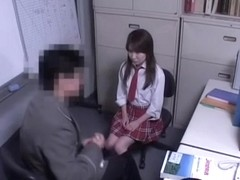 Jap teen babe gets dicked in hardcore Japanese porn action
