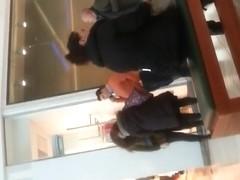 spy sexy teens in mall romanian
