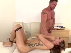 Crazy pornstars Leyla Black, David Perry in Fabulous Redhead, College xxx scene