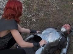 Best pornstar Marsha Lord in amazing redhead, outdoor xxx clip