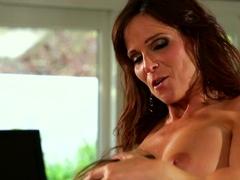 Crazy pornstars Scarlett Fever, Syren de Mer, Syren DeMer in Horny Big Tits, Cunnilingus porn movie