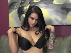 Exotic pornstar Katrina Jade in Crazy Dildos/Toys, Small Tits adult clip