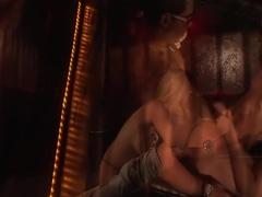 Horny pornstar Ashlynn Brooke in incredible big tits, blonde sex clip