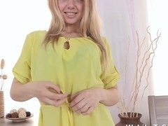 Seductive blondie Olivia Grace is so hot