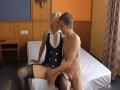 Mature divorced wife likes younger cocks