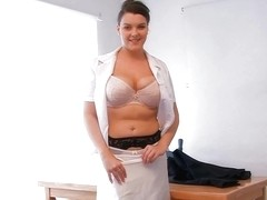 teacher show me her big boobs D10