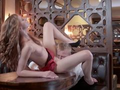 Hottest pornstars Denis Reed, Linda Sweet in Incredible Big Tits, Cunnilingus adult video