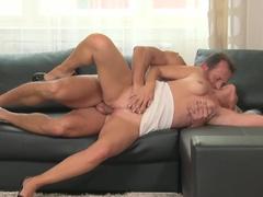 Incredible pornstar in Fabulous HD, Mature sex video