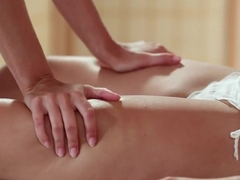 Horny pornstar in Exotic HD, Lesbian porn scene