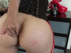 Crazy pornstars James Deen, Dana Vespoli, Valentina Nappi in Exotic Big Ass, Threesomes sex scene