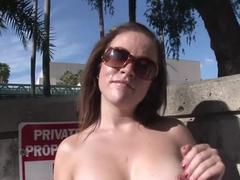 Fabulous pornstar in incredible outdoor, striptease sex movie