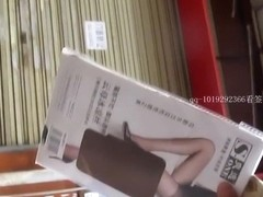 hot Chinese chick voyeur on Wuhang street part 2