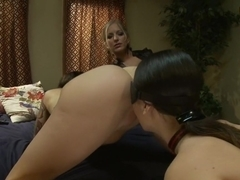 Horny fetish, anal sex video with incredible pornstars Dia Zerva and Tricia Oaks from Everythingbutt